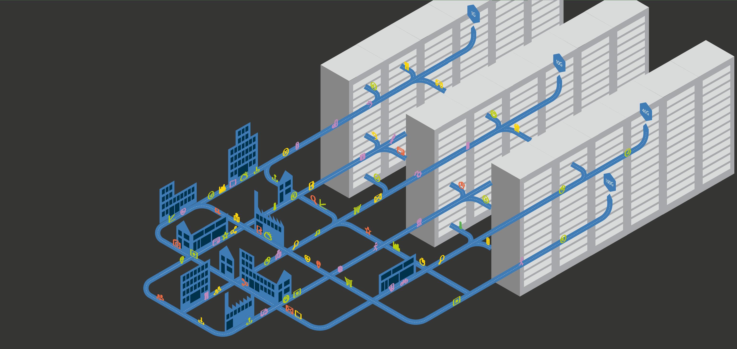 شبکه های محلی LAN برند نگزنس (Nexans)