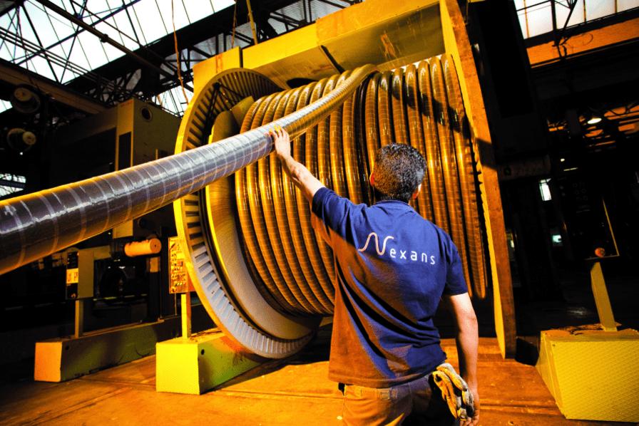 پروژه های ولتاژ بالا برند نگزنس (Nexans)