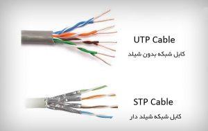 تفاوت کابل شبکه UTP و SFTP