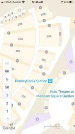 نقشههای داخلی گوگل مپ
