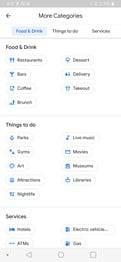 گزینه Explore گوگل مپ