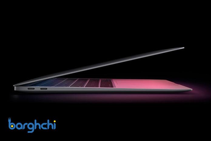 تفاوتهای خارجی لپ تاپ مک بوک پرو 2020 اپل با تراشه M1 و تراشه Intel