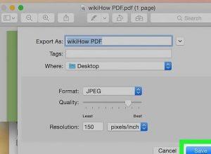تبدیل پی دی اف به عکس با استفاده از Adobe Acrobat Pro