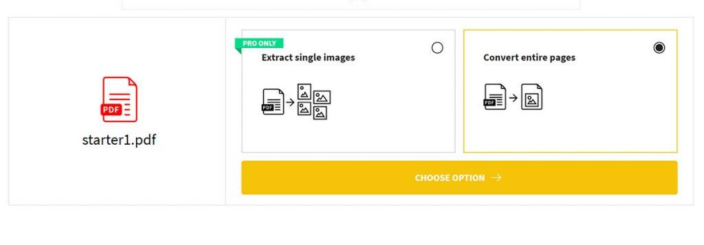 تبدیل PDF به JPG با استفاده از سایت smallpdf