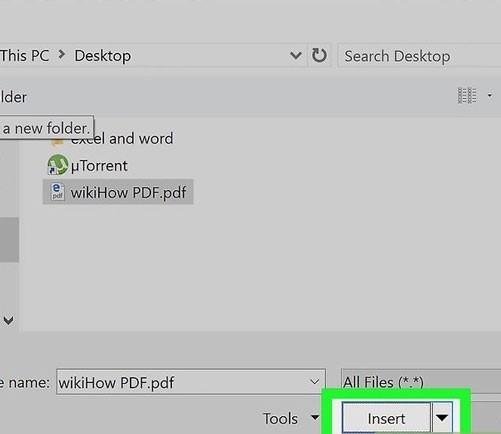 تبدیل pdf به jpg با استفاده از Microsoft Word