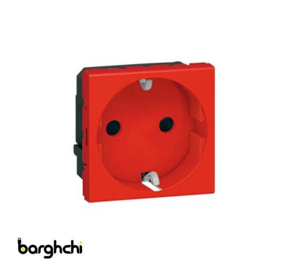پریز برق ارت دار لگراند قرمز Barghchi