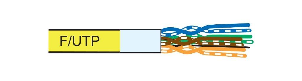 کابل شبکه لگراند CAT6a F/UTP | فروش کابل شبکه لگراند Legrand | مشخصات و ویژگی های کابل شبکه لگراندCAT6a F/UTP باروکش LSZH