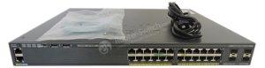 سوئیچ شبکه 24 پورت سیسکو مدل WS-C2960X-24PS-L