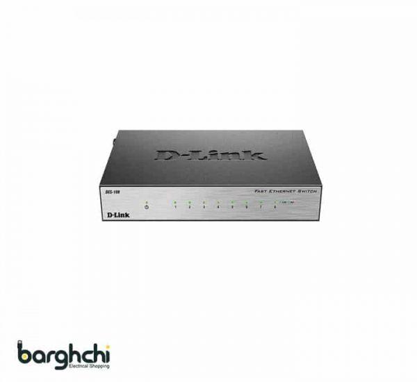 سوییچ غیر مدیریتی دی لینک مدل DES-108/E