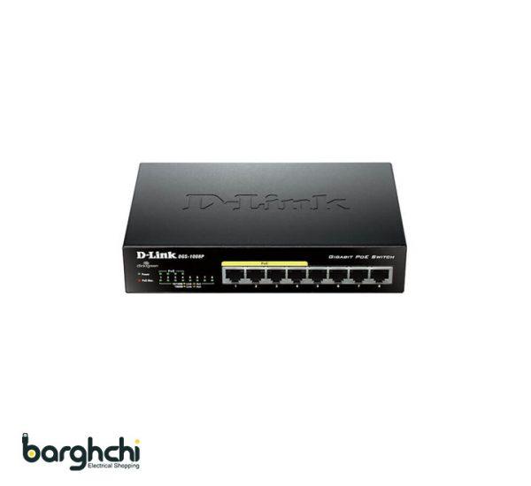 سوییچ غیر مدیریتی دی لینک مدل DGS-1008P