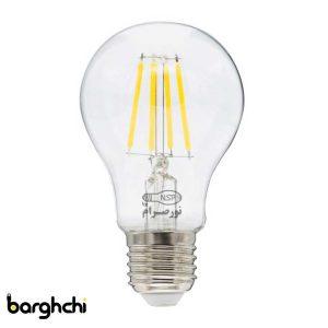 لامپ LED حبابی آفتابی فیلامنتی نور صرام 6 وات