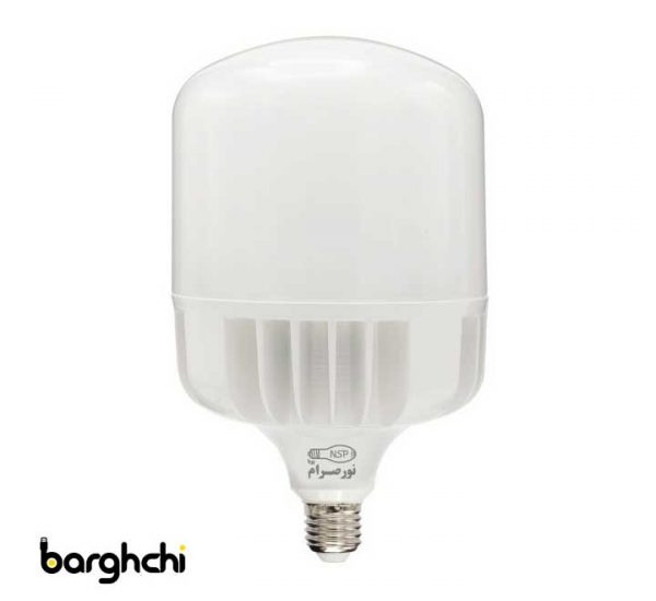 لامپ ال ای دی LED استوانه ای آفتابی نور صرام 100 وات E27