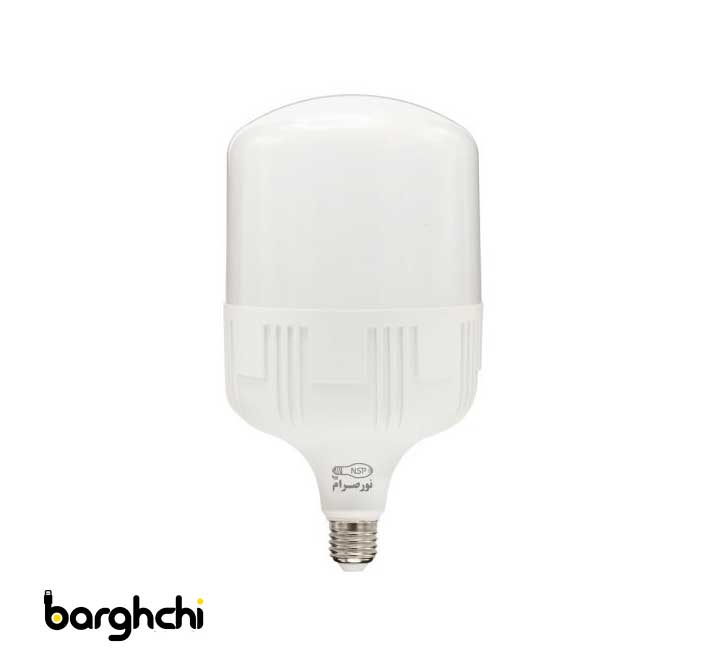 لامپ ال ای دی LED استوانه ای آفتابی نور صرام 50 وات