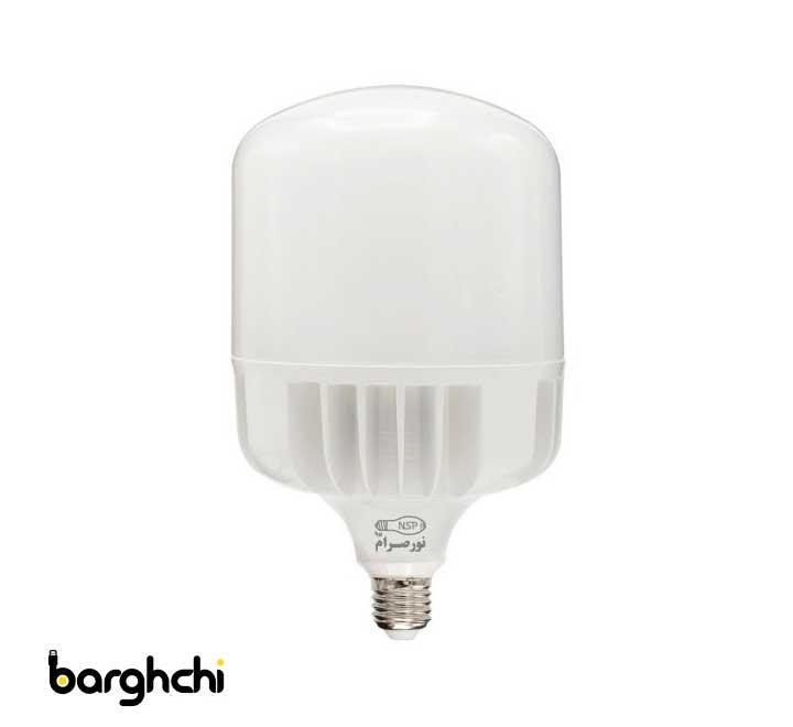 لامپ ال ای دی LED استوانه ای آفتابی نور صرام 60 وات