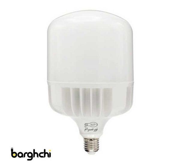 لامپ ال ای دی LED استوانه ای مهتابی نور صرام 100 وات E27