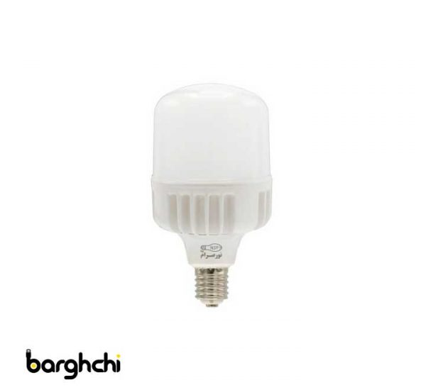 لامپ ال ای دی LED استوانه ای مهتابی نور صرام 20 وات