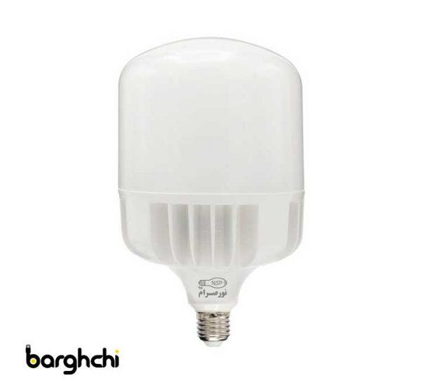 لامپ ال ای دی LED استوانه ای مهتابی نور صرام 80 وات