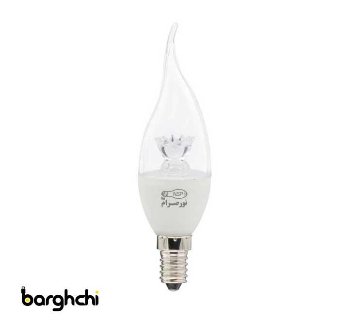 لامپ LED اشکی نور صرام 6 وات