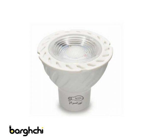 لامپ ال ای دی LED پایه استارتی آفتابی نور صرام