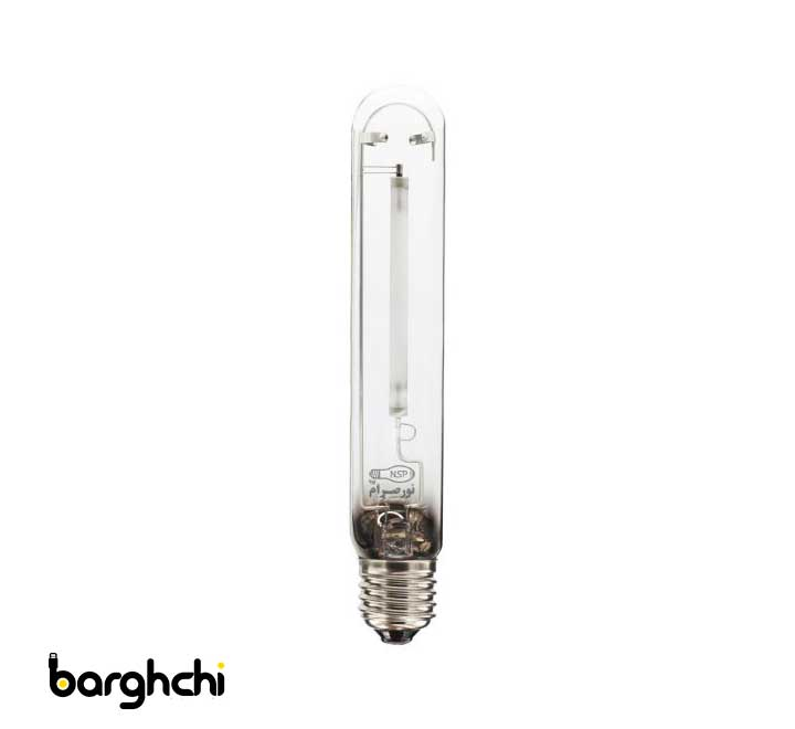 لامپ بخار سدیم استوانه ای آفتابی نور صرام 400 وات