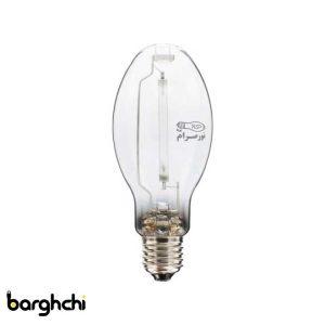 لامپ بخار سدیم بیضوی آفتابی نور صرام 250 وات