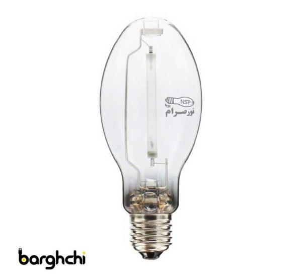 لامپ بخار سدیم بیضوی آفتابی نور صرام 400 وات