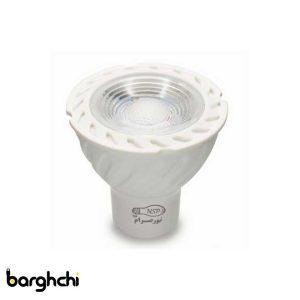 لامپ ال ای دی LED پایه استارتی صدفی نور صرام