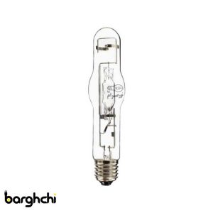 لامپ متال هالید استوانه ای آبی نور صرام 400 وات