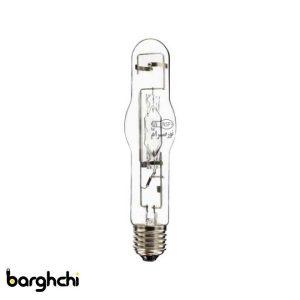 لامپ متال هالید استوانه ای بنفش نور صرام 400 وات