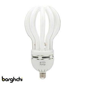 لامپ کم مصرف اتحاد مهتابی نور صرام 105 وات