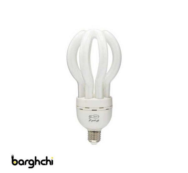 لامپ کم مصرف اتحاد آفتابی نور صرام 60 وات