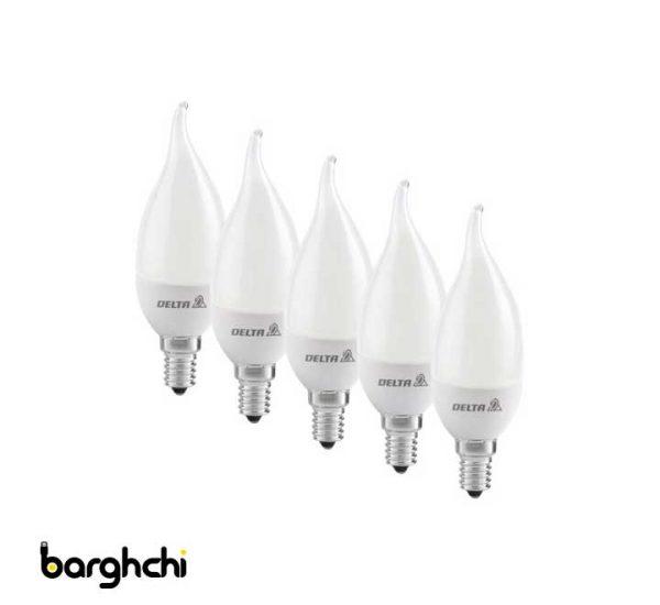 لامپ LED دلتا 7 وات مدل اشکی
