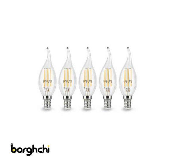 لامپ LED فیلامنتی 5 وات هالی استار مدل CA35T اشکی