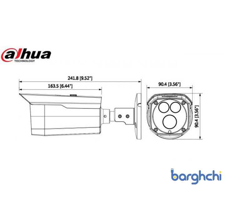 دوربین مداربسته داهوا DH-HAC-HFW1200DP