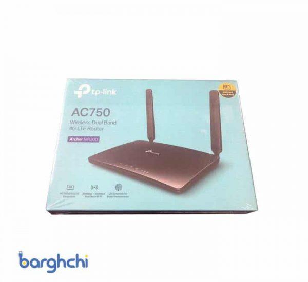 مودم روتر بی سیم 4G LTE تی پی-لینک مدل Archer MR200/AC750_Ver- 4