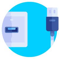 قابلیت اشتراک گذاری اسان با کمک USB Sharing Port:
