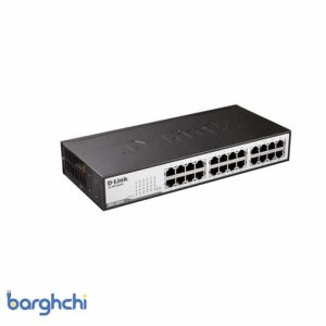 سوئیچ 24 پورت غیر مدیریتی و دسکتاپ دی-لینک مدل DES-1024D