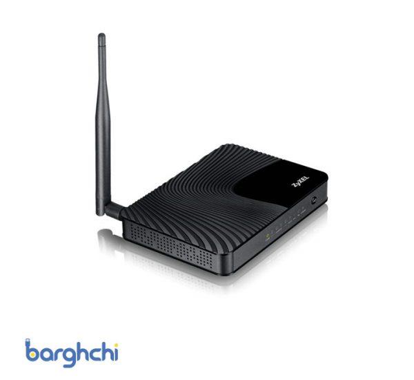 مودم روتر ADSL2 Plus بی سیم زایکسل مدل DEL1202-T10A/B