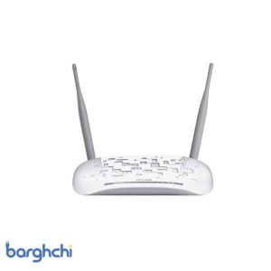 مودم روتر ADSL2 Plus بیسیم N300 تی پی-لینک مدل TD-W8968
