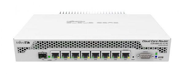 روتر میکروتیک CCR1009-7G-1C-PC