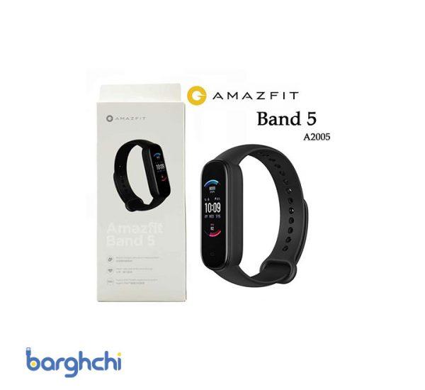مچ بند هوشمند شیائومی مدل Amazfit Band 5
