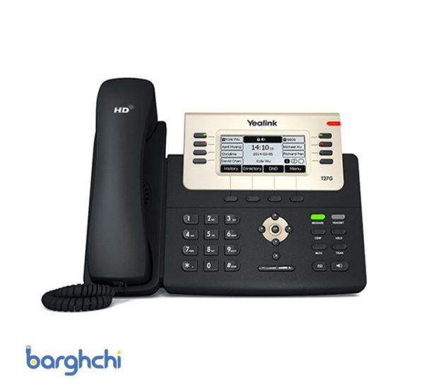 تلفن تحت شبکه یالینک مدل SIP-T27G