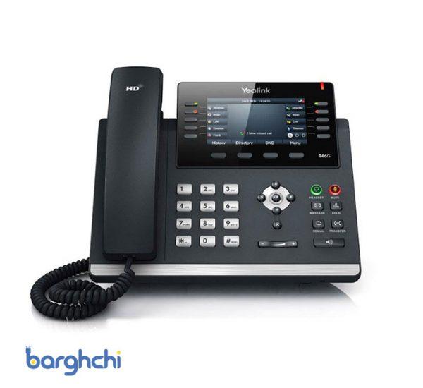 تلفن تحت شبکه یالینک مدل SIP-T46G