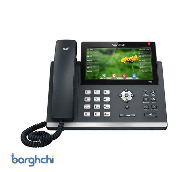 تلفن تحت شبکه یالینک مدل SIP-T48G