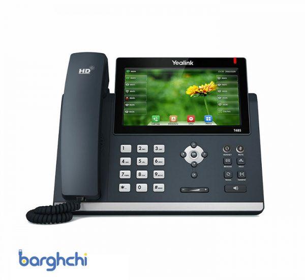 تلفن تحت شبکه یالینک مدل SIP-T48S