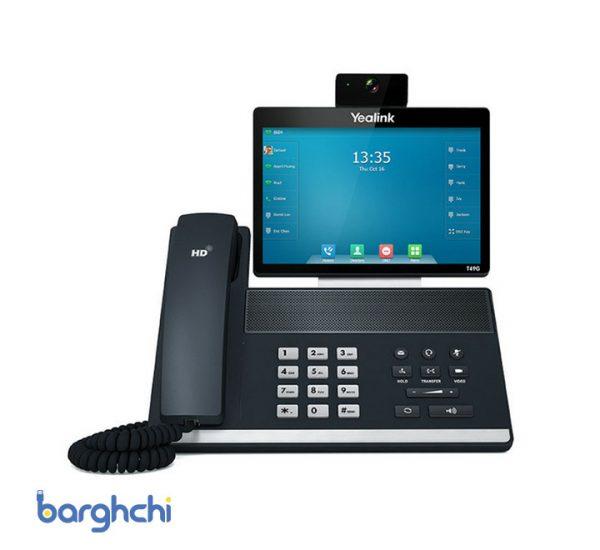 تلفن تحت شبکه یالینک مدل SIP-VP-T49G